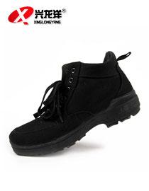 05防寒棉鞋;黑色保暖棉鞋FHX765