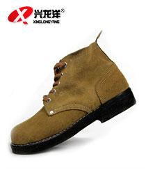 电焊鞋劳保鞋 反皮牛皮鞋 轮胎车胎底鞋工业鞋FHX736