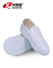 PVC条纹中巾鞋FJD820
