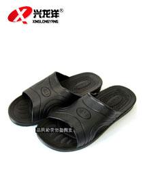 防静电拖鞋(黑色)FJD863