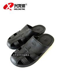 防静电拖鞋(黑色四孔)FJD862