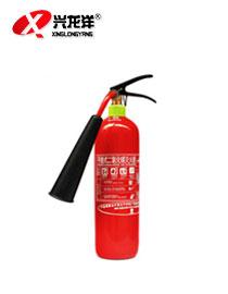 二氧化碳灭火器消防认证MT/2手提式co2灭火器 2KG厂房灭火器XF902