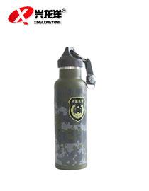 户外旅行水壶水杯迷彩带指南针水壶水杯迷彩水瓶HW920