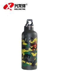 带指南针 户外旅行水壶 运动水壶 登山水壶水杯 迷彩水瓶 超轻HW921