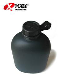 【正品】户外运动水壶 迷彩水壶不锈钢野营旅行水壶送水壶套HW924