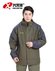厂家供应 特价新款男装春秋保暖防寒长款户外外套运动服HW909