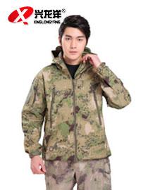 厂家批发迷彩服外套户外服春秋运动服户外军迷装备耐磨吸汗可定制HW914
