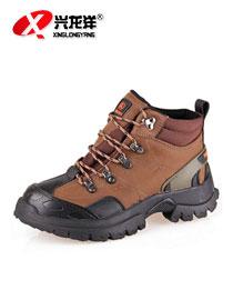 新款男士户外休闲鞋磨砂皮登山内增高运动鞋HW904