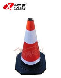 70公分/50公分红白 橡胶路锥 反光锥 反光筒 安全路标 交通设施路锥JT783