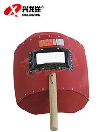 红钢纸手持电焊面罩MB092