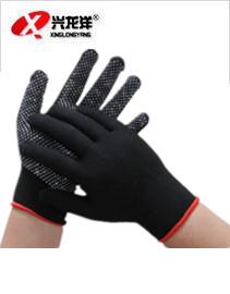 十三针尼龙无尘点胶手套防静电防滑手套ST230