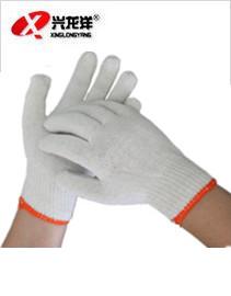 亚博体育ios版正品加厚白棉线手套劳保手套700gST273