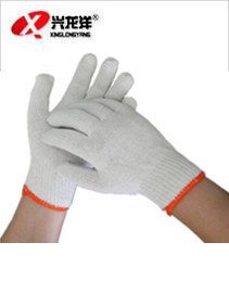 耐磨作业棉纱劳保手套ST287
