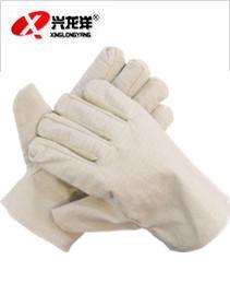 厂家直销耐用帆布手套 三层帆布手套 劳保手套加里加厚半衬耐磨ST225