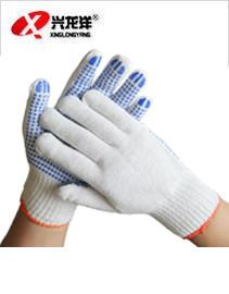防滑点塑纱线手套ST233