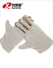 皮条双层帆布手套ST307