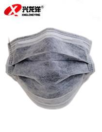 一次性口罩活性碳口罩灰色四层防病菌防甲醛防尘防雾霾pm2.5FHX968