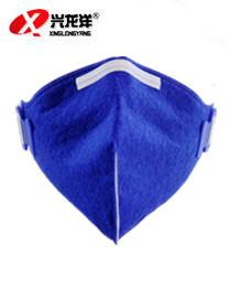 绿健1008型折叠专业防尘防雾口罩工业防护防粉尘面罩防烟尘口罩FHX973