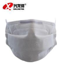 绿健口罩9011 防尘防颗粒折叠式口罩 防尘粉 防雾霾戴头式口罩FHX976
